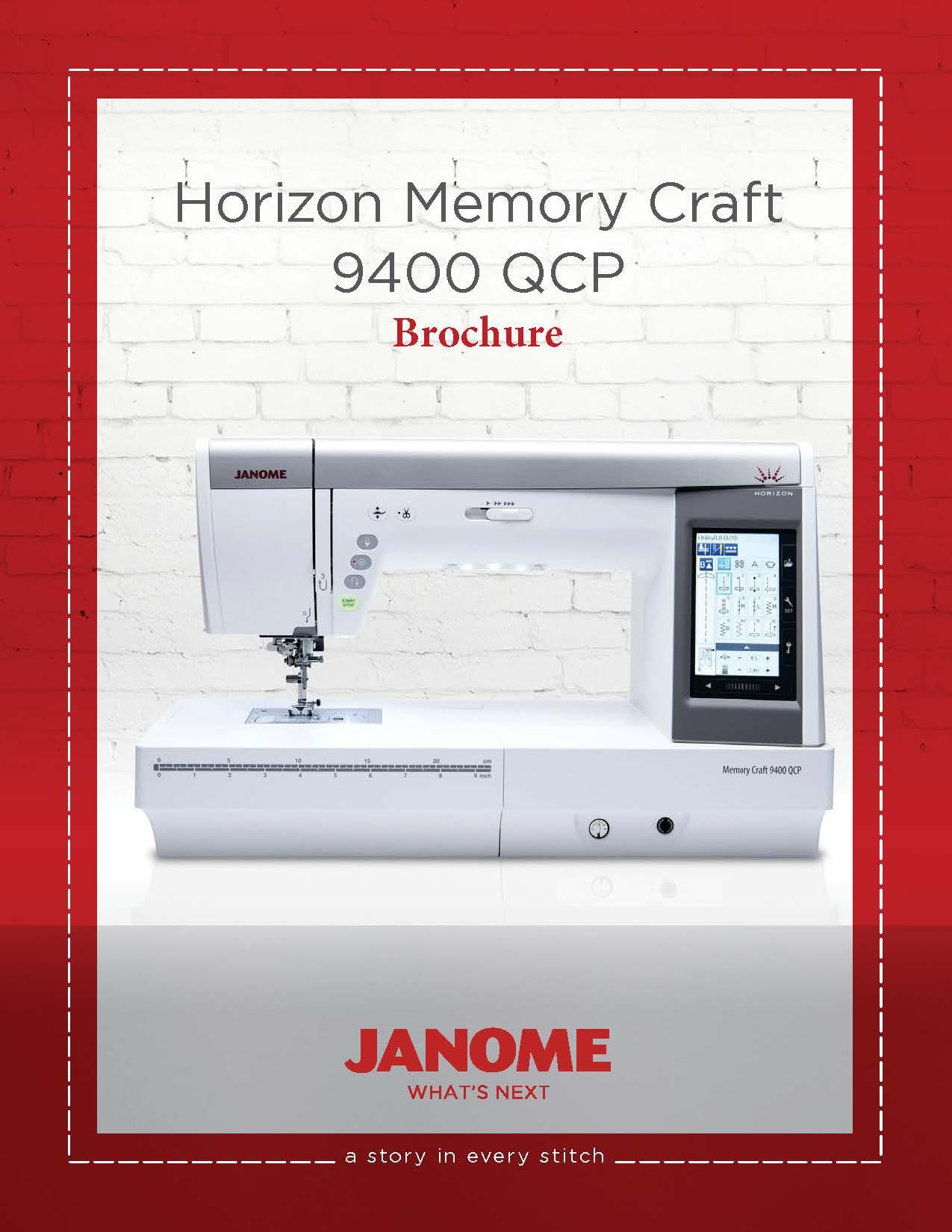 Janome 9400