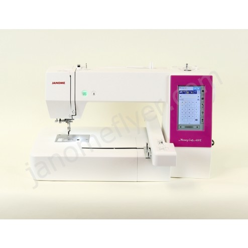 Janome 450e embroidery machine