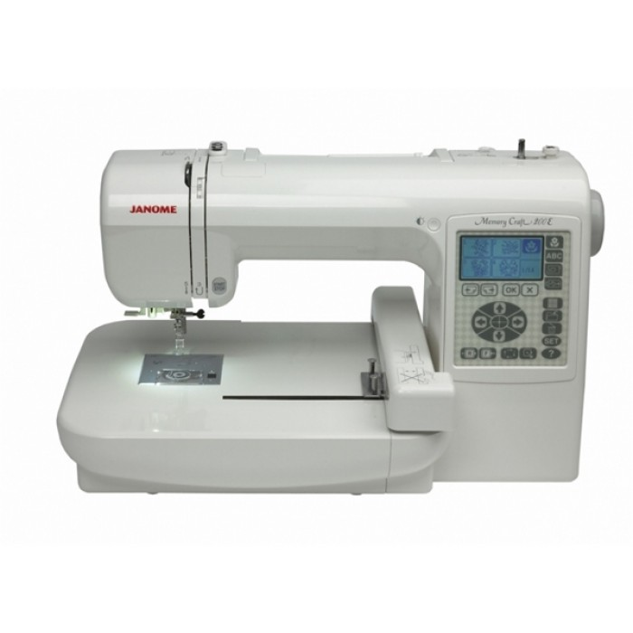 Janome memory craft 200e embroidery machine for Janome memory craft 200e