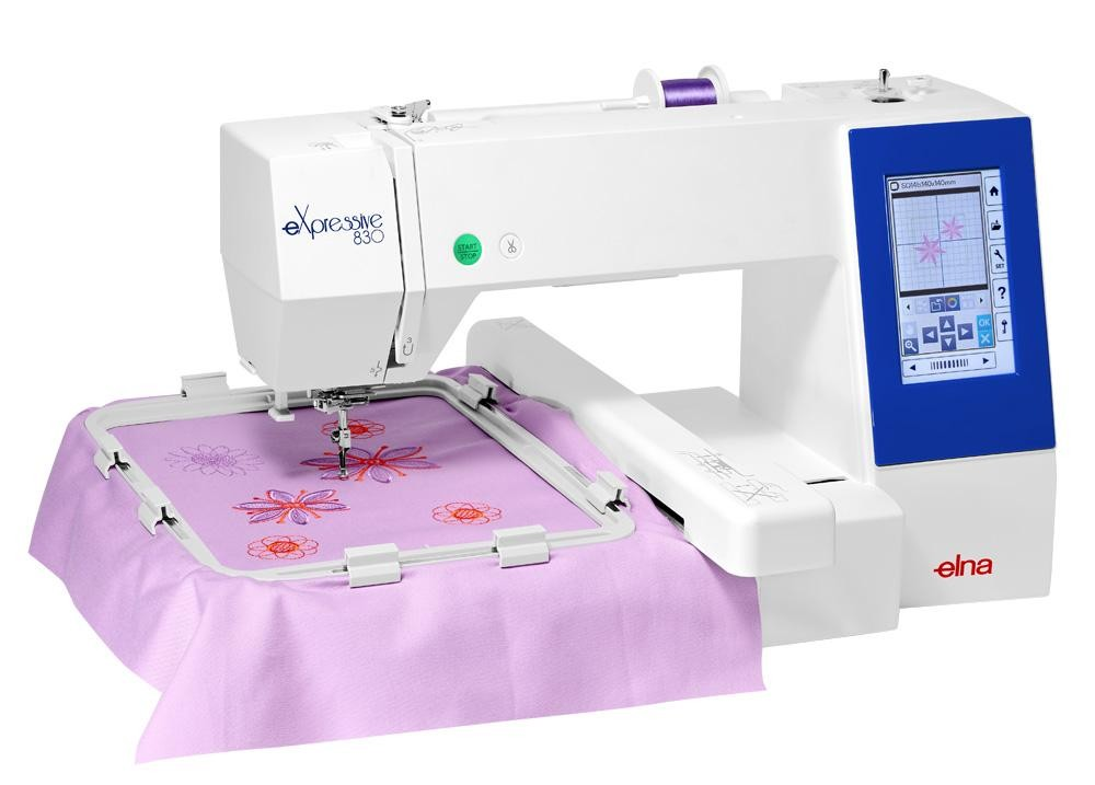 Elna 830 embroidery machine