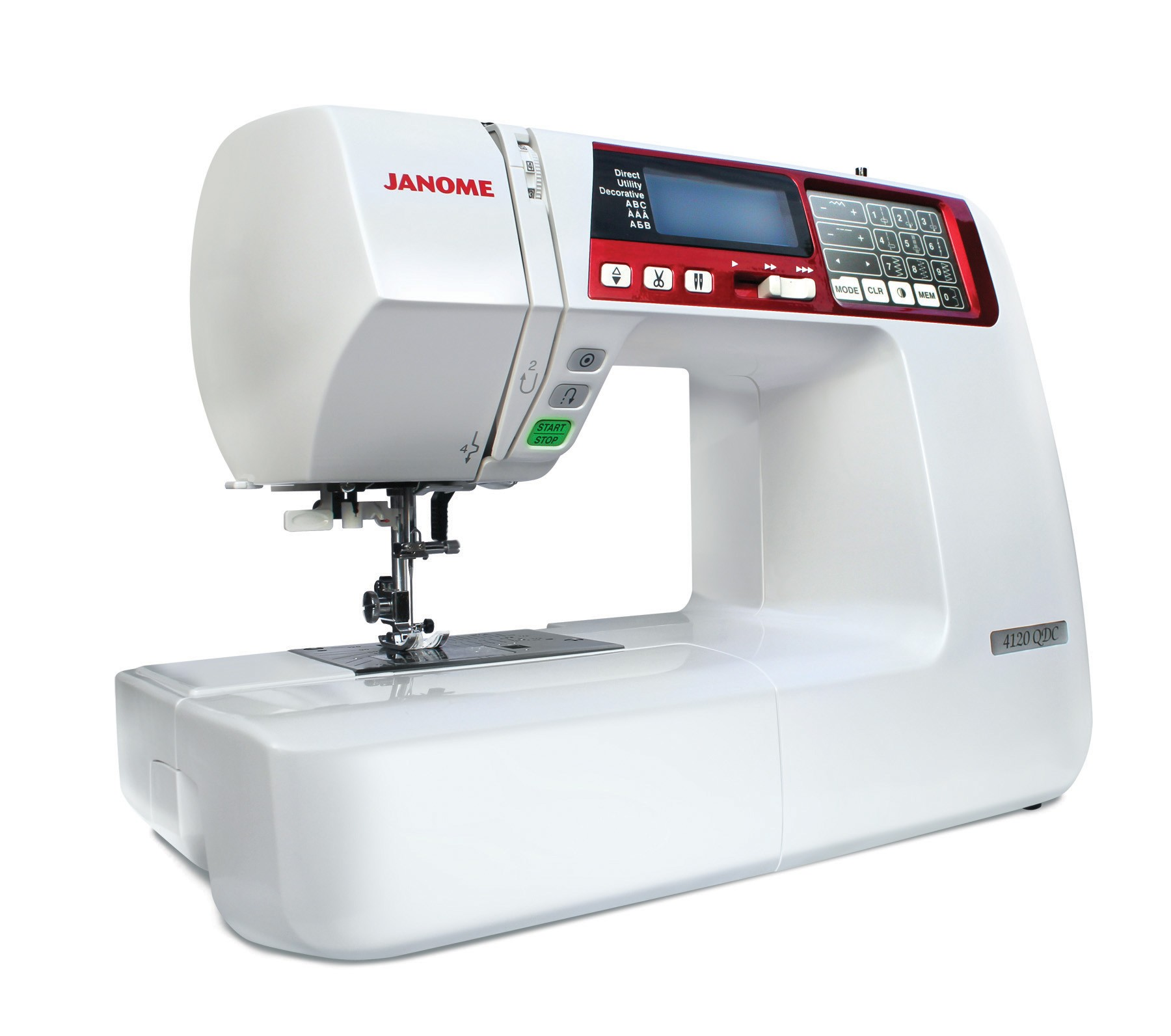 Janome 4120QDC-R