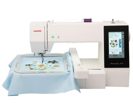 Janome 500E embroidery machine