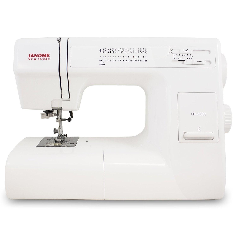 SAVE 37% Janome HD3000 Heavy-Duty Sewing Machine