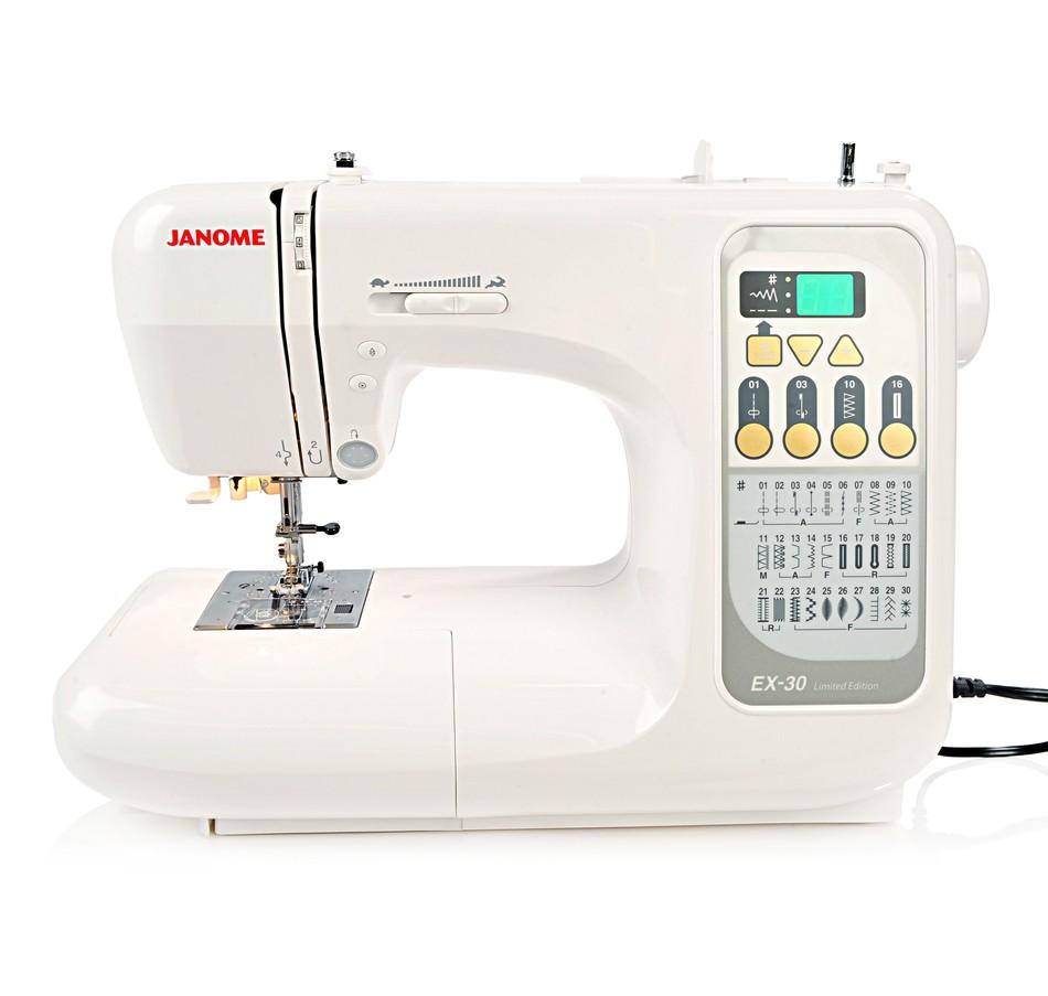 Janome ex sewing machine