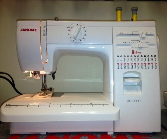 Janome HD2000