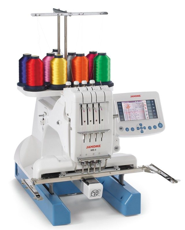 Janome Mb4 Embroidery Machine