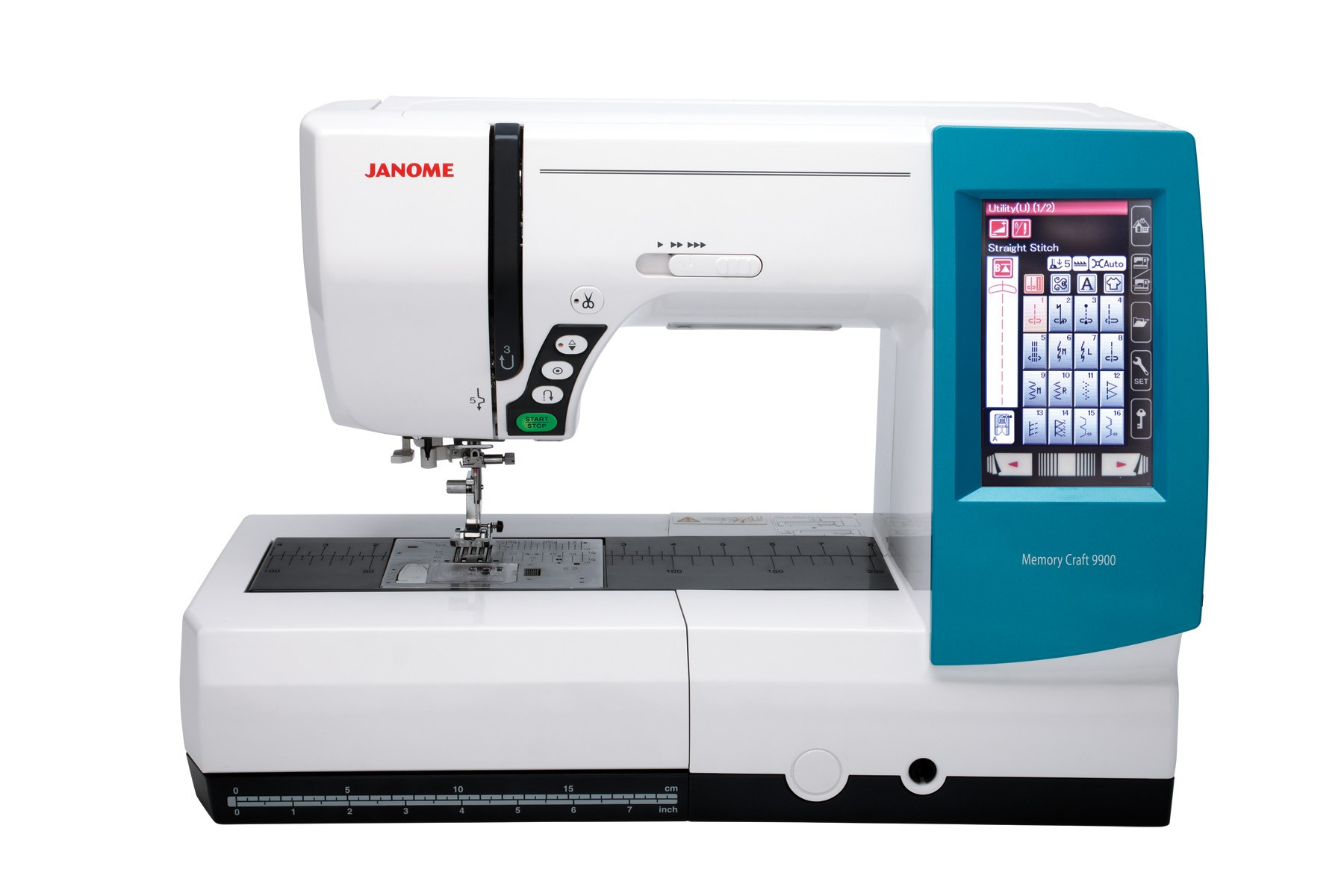 Janome memory craft 9900 -  Memory Craft 9900 Sewing Machines Janome Mc9900 Teal