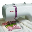 Janome 350e with sample