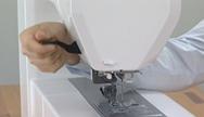 Presser foot lever
