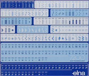 Stitch chart