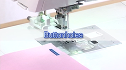buttonholes on janome 9400
