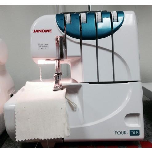 janome serger machine