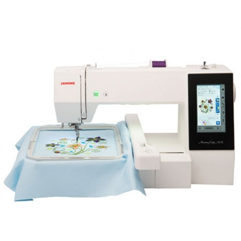 Janome 500E embroidery machine