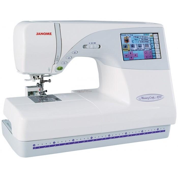 Buy Janome MC9700 Embroidery Sewing Machine at Janome ...
