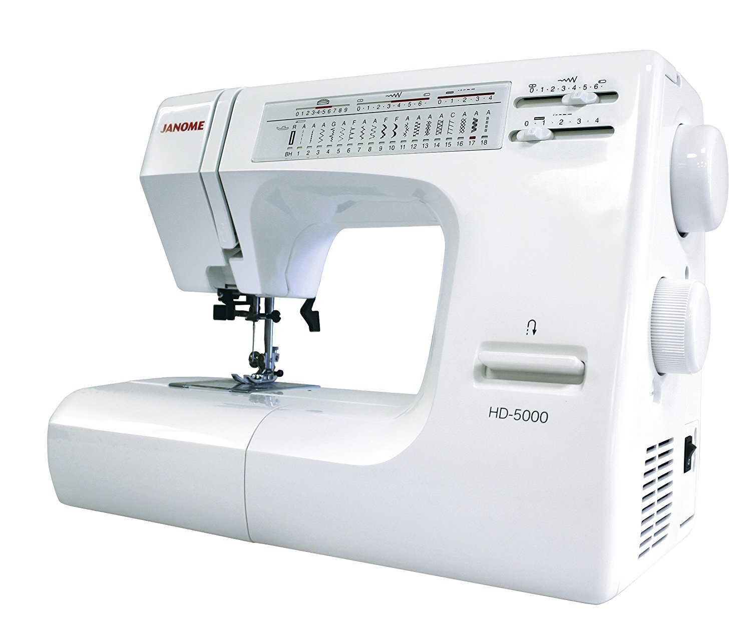 Sewing Machines. Janome HD5000
