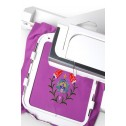 Janome 15000 embroidery hoop and iPad