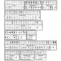Janome Horizon 7700 stitch chart