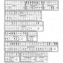 Janome MC8900 stitch chart