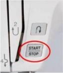 Stop/start button